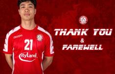 Công Phượng chính thức chia tay CLB TP Hồ Chí Minh để về lại Hoàng Anh Gia Lai