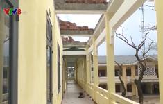 Quảng Ngãi: Cần sớm khắc phục trường lớp sau bão