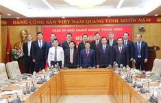 Đảng ủy Khối Doanh nghiệp Trung ương trao quyết định về công tác cán bộ