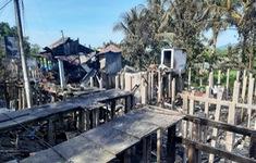 Hỏa hoạn thiêu rụi 7 căn nhà ở TP Châu Đốc