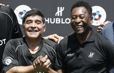Các ngôi sao thế giới tiếc thương huyền thoại Maradona