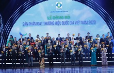 283 sản phẩm đạt Thương hiệu quốc gia Việt Nam năm 2020
