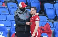 Liverpool lại đón nhận thêm một ca chấn thương
