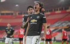 Southampton 2-3 Man Utd: Cavani lập cú đúp giúp M.U ngược dòng kịch tính