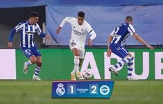 Real Madrid 1-2 Deportivo Alaves: Nối dài mạch trận thất vọng!