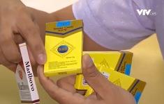 """Cảnh báo tình trạng học sinh mua và sử dụng kẹo """"thuốc lá"""" tràn lan"""