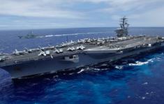 Tàu sân bay USS Nimitz Mỹ trở lại vùng Vịnh