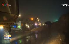 Sạt lở nghiêm trọng gây ách tắc quốc lộ 27C.