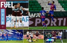 CẬP NHẬT Lịch thi đấu, Kết quả, BXH các giải bóng đá VĐQG châu Âu sáng 1/12: Leicester City thua trận, West Ham vươn lên vị trí thứ 5 Ngoại hạng Anh