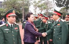 Chủ tịch Quốc hội: Tăng cường bảo vệ vững chắc từng tấc đất, vùng trời của Tổ quốc