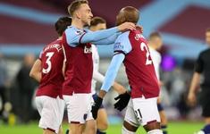 West Ham 2-1 Aston Villa: Đội bóng của David Moyes vươn lên vị trí thứ 5 Ngoại hạng Anh