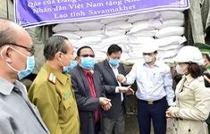 Việt Nam hỗ trợ tỉnh Sanavakhet của Lào 1.000 tấn gạo
