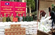 Quảng Trị hỗ trợ gạo và nhu yếu phẩm cho Lào