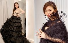 Mâu Thủy, Võ Hoàng Yến khoe trang phục cá tính trước show thời trang