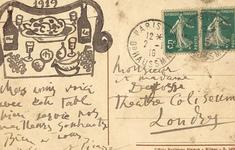 Tấm bưu thiếp độc đáo của Picasso sẽ được bán với giá hơn 900 triệu đồng