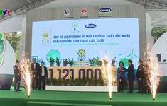 Hoàn thành mục tiêu trồng 1 triệu cây xanh cho Việt Nam