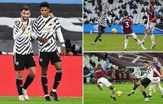 West Ham 1-3 Man Utd: Ngược dòng đỉnh cao, hiên ngang top 4 (Vòng 11 Ngoại hạng Anh)