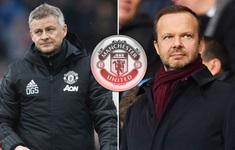 """""""Sếp phó"""" Ed Woodward mong Man Utd tiếp tục... nghỉ đông"""