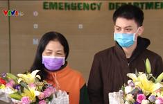 Bệnh viện Bệnh nhiệt đới Trung ương công bố 2 bệnh nhân khỏi bệnh COVID-19