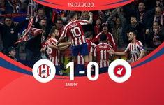 UEFA Champions League, Atletico 1-0 Liverpool: Chiến thắng quan trọng trước nhà ĐKVĐ