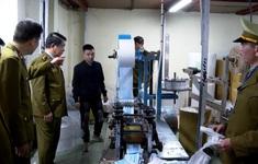 Đề nghị xử lý hình sự doanh nghiệp dùng giấy vệ sinh sản xuất khẩu trang