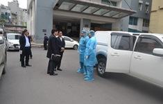 Hà Nội cử cán bộ y tế đến tỉnh Vĩnh Phúc hỗ trợ phòng dịch COVID-19
