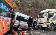 Mưa phùn kéo dài, nhiều vụ tai nạn giao thông xảy ra tại TT - Huế