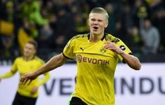 Haaland lại ghi bàn, lại lập kỷ lục ở Bundesliga