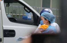 Cháu bé 3 tháng tuổi nhiễm Covid-19 ở Vĩnh Phúc đã được xuất viện sáng nay