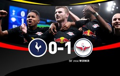 Tottenham 0-1 RB Leipzig: Thế trận áp đảo, thắng lợi quan trọng