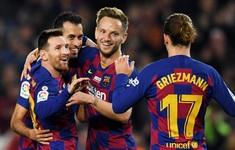 Lịch thi đấu vòng 25 La Liga: Barcelona - Eibar, Levante - Real Madrid, Atletico Madrid - Villarreal...