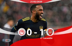 Olympiacos 0-1 Arsenal: Thi đấu nhạt nhoà, Pháo thủ vẫn giành lợi thế
