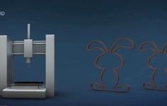 Sản xuất chocolate bằng máy in 3D