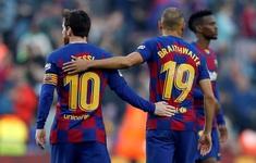 Kết quả, BXH vòng 25 VĐQG Tây Ban Nha La Liga: Barcelona 5-0 Eibar, Levante 1-0 Real Madrid