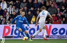 Kết quả, BXH vòng 25 VĐQG Italia: SPAL 1-2 Juventus, Fiorentina 1-1 AC Milan