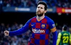Messi bị kiểm tra COVID-19
