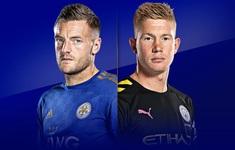 TRỰC TIẾP BÓNG ĐÁ Leicester City 0-0 Manchester City: Hết hiệp một