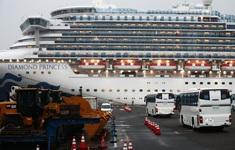Nhật Bản phát hiện một hành khách rời tàu Diamond Princess bị nhiễm COVID-19