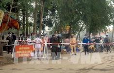 Hỗ trợ cán bộ y tế chống dịch tại Vĩnh Phúc