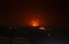 Chiến đấu cơ Israel không kích các mục tiêu ở Syria và dải Gaza