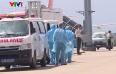 Đoàn khách Hàn Quốc lưu trú tại bệnh viện Phổi Đà Nẵng