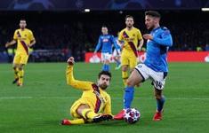 Napoli 1-1 Barcelona: Trận hòa chật vật của Barcelona (Lượt đi vòng 1/8 Champions League 2019-2020)