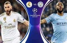 TRỰC TIẾP BÓNG ĐÁ Real Madrid – Manchester City: 3h00 ngày 27/2, lượt đi vòng 1/8 UEFA Champions League