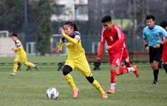 ĐT nữ Việt Nam hoà 0-0 U15 nam CLB Hà Nội trong trận đấu tập