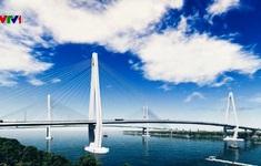 Thi công cầu Mỹ Thuận 2 vượt sông Tiền