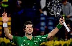 Thắng dễ Khachanov, Djokovic vào bán kết Dubai mở rộng