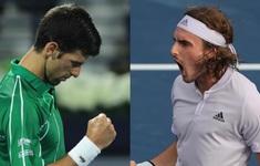 Djokovic và Tsitsipas vào chung kết giải quần vợt Dubai mở rộng