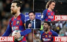 [LIVE] Toàn cảnh thể thao đẩy lùi COVID-19: Dàn sao Barcelona mất số tiền khổng lồ vì đại dịch