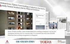 Singapore trước tác động từ lệnh đóng cửa tại Malaysia