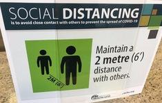 Khoảng cách hai mét có thể không đủ để ngăn lây nhiễm virus